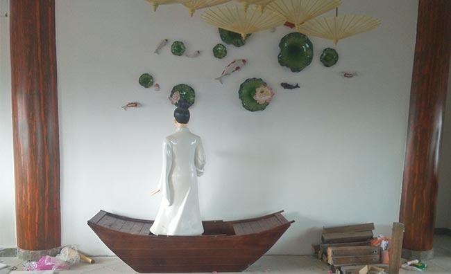 景区玻璃钢雕塑