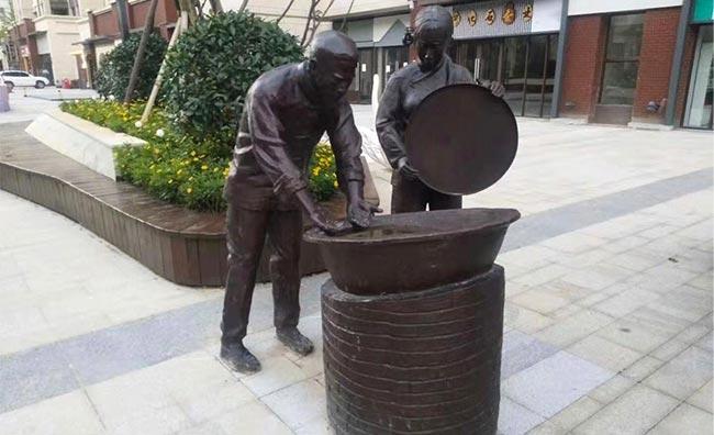 景区铸铜雕塑